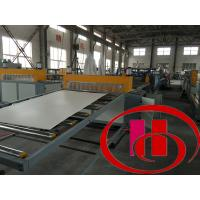 Buy cheap High Precision Wpc Board Making Machine / Extruder For Kitchen And Ad Board from wholesalers