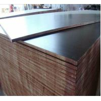 Buy cheap Concrete Formwork Film Faced Marine Plywood , WBP Glue Film Coated Plywood Panel product