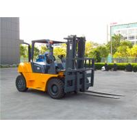 5000kg rated capacity diesel forklift truck with dual front tires