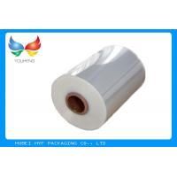 Buy cheap 40mic Shrinkable Clear PVC Shrink Label Wrap Film For Wrapping And Printing Label product