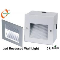 Outdoor IP65 Square Led Mounted Wall Light Recessed 120 Degree Led Stair Light of carlightsbulbs
