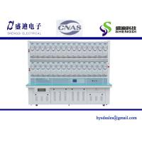 Buy cheap Single Phase Electronic DIN Rail Active Energy Test Bench 30 Positions 0.05% Accuracy Class 0~100A current range from wholesalers