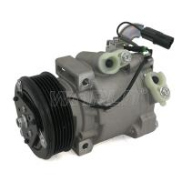 Buy cheap 12V QS70 Mitsubishi Lancer Ac Compressor 1.6 2007 6PK With Standard Size product