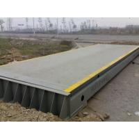 China Timber Mills Portable Trailer Scales  Electronic Weight Machine For Truck 3×15M on sale