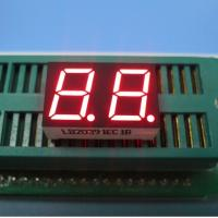 Quality Intrument Panel Common Anode 7 Segment Display 2 Digit SGS / Rohs Certificated for sale