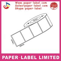 China Thermal paper roll sticker plant label on sale