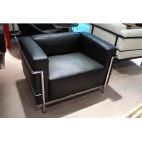 Buy cheap Office Leather Cushion Le Corbusier Lc2 Sofa , Sectional Cassina Lc2 Sofa SGS product