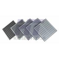 Buy cheap Portable Aluminum Perforated Raised Floor Tiles Airflow Rate With Solid Panel product