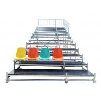 China Durable Steel Fixed Arena Bleacher Grandstand System For Exhibition wholesale