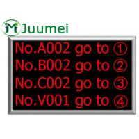 Buy cheap Indoor Wirelss Electronic Number Counter Supports Background Music product