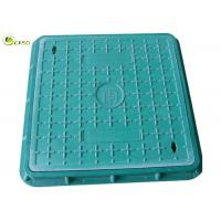 Buy cheap Green Plumbing Drainage Systems Drain Grating Composite Recessed Manhole Cover product