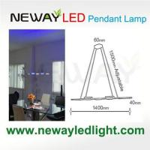 Buy cheap Cordless Remote LED Direct Indirect Light Pendant Lamp 3W COB LED product