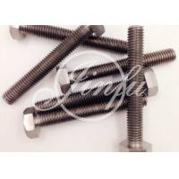 China Long Titanium Hex Screws  Grade 2 Cold Forging DIN 933 M16 * 1000  Highly Resistant To Chemical Attack on sale