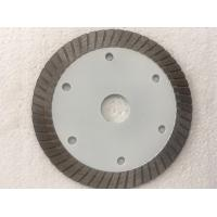Buy cheap White Hot Pressed Mid Turbo Diamond Saw Blade Granite Cutting Marble 4 5 Inches Size product