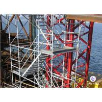 Buy cheap Lightweight Ladders And Scaffold Towers Hot Dip Galvanized Easy Installation product