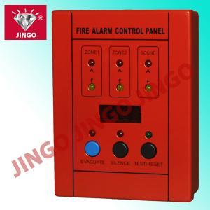 Buy cheap Zones conventionnelles électroniques du panneau 2 d'esclave de contrôle de systèmes d'alarme d'incendie de DC24V product