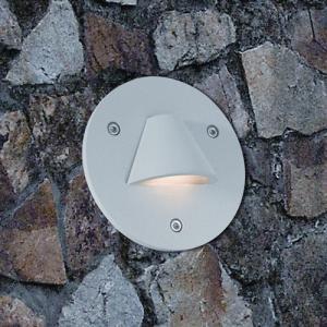 Buy cheap ウォールフーチング100ミリメートル* 113ミリメートルのためのフィリップスラウンド屋外用LEDステップライト from wholesalers