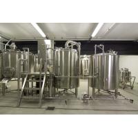 Buy cheap CE 2000L Large Scale Brewing / Electric Brewery 304 Stainless Material from wholesalers