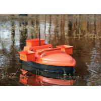 China DEVC-202 orange remote control fishing bait boat radio smart brushless motor on sale