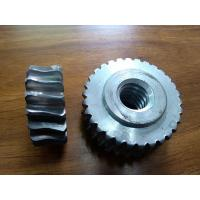 Buy cheap Customized Precision forged metal worm Gear Hobbing Services support  zinc plated product