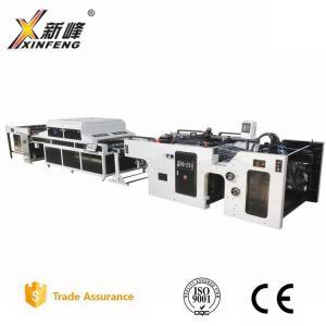 Buy cheap Полноавтоматическая печатная машина экрана цилиндра СФ-1020; 1020кс720мм, модель 2 780кс520мм для бумажной ультрафиолетовой леча машины product