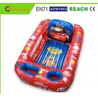 Buy cheap Disney Cars Inflatable Swimming Pool Non Toxic PVC Vinyl Light Weight from wholesalers
