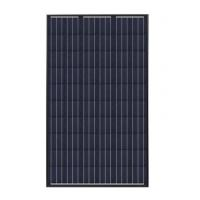 Buy cheap Black Frame 250W Monocrystalline Solar Panel For Roof System Waterproof Pump product