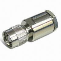 Buy cheap RF Connector TNC Plug RP Clamp for LMR400, with Teflon Insulator and Brass/Gold Plated Pin product