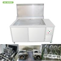 Buy cheap Engine Block Automotive Ultrasonic Cleaner 500L Oil Filter Recycling 28khz Frequency product