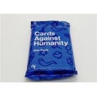 Buy cheap Custom Made Playing Cards Against Humanity Jew Pack With Different Sizes from wholesalers