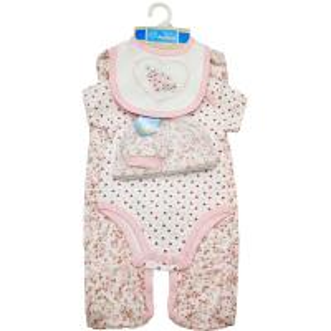 China Plain Style Baby Girl Clothing Sets Baby Wear Product Type 5pc Newborn Clothing on sale