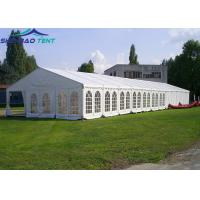 Buy cheap Big Event Marquee Tent UV Resistant With PVC Cover 3m To 50m from wholesalers