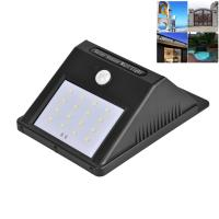 China Outdoor Solar Powered Wall Mounted Lights , High Bright Motion Sensor Solar Wall Light on sale