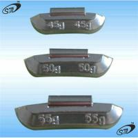 China Lead wheel weight for steel wheel on sale