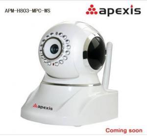 Câmera infravermelha sem fio APM-H803-MPC-WS do IP da câmera do IP de Apexis Android