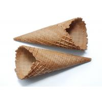 Chocolate Covered Ice Cream Cone , Chocolate Dipped Waffle Cones Conical Shpe