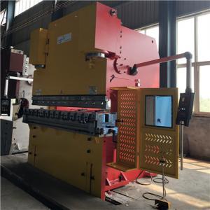 Buy cheap Hydraulic 6500KN 16mm Mild Steel 600 Ton NC Press Brake product