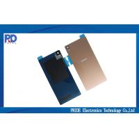 Buy cheap Gold Sony L55T Battery Covers Fix Parts , Back Cover For Sony Xperia Z3 product