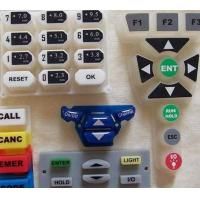 Quality laser etched silicone rubber keypad for sale