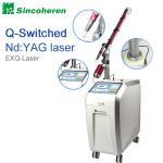 Buy cheap Q comutou a máquina da remoção da tatuagem do laser do Nd YAG, tratamento do laser para a marca de nascença/fungo do prego product