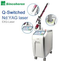 Buy cheap Q Switched Nd YAG Laser Tattoo Removal Machine , Laser Treatment For Birthmark / Nail Fungus product