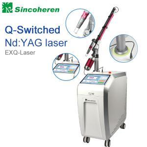 Q comutou a máquina da remoção da tatuagem do laser do Nd YAG, tratamento do laser para a marca de nascença/fungo do prego
