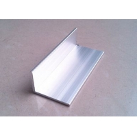 Buy cheap Extruded Aluminum Angl Unequal Leg 40mm x 74mm x 4mm Wall Thickness for Machinery Usage product