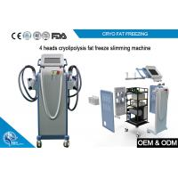 Buy cheap Non Invasive Cryolipolysis Machine Fat Freezing For Body Slimming with 4 handle product