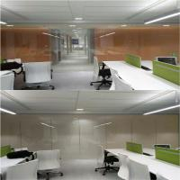 Buy cheap electric frosted glass meeting room partition EBGLASS product