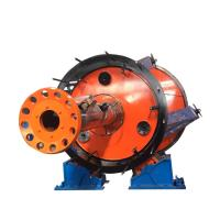 Buy cheap Underground Cable Laying Machine Red And Yellow Color With Large Cross Section product