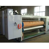 Buy cheap 3 Color Corrugated Box Print And Cut Machine With Automatic Feeding 60pages/Min from wholesalers