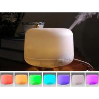 Buy cheap 500ML Ultrasonic Air Aroma Humidifier Fogger With Color LED Lights For Home product