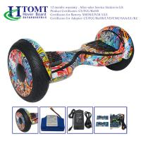 Buy cheap 10 inch Mobile APP LED light Electric Hoverboard with Bluetooth Speaker , Two Wheels Self Balancing Scooter product