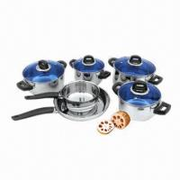 Buy cheap 7-piece Stainless Steel Cookware Set with Bakelite Handles and Knob product